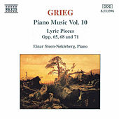 Piano Music Vol. 10 by Edvard Grieg