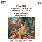 Symphonies Nos. 34, 35 and 39 by Wolfgang Amadeus Mozart