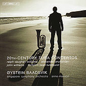 Tuba Concertos (20th Century) - VAUGHAN WILLIAMS, V. / ARUTIUNIAN, A. / LUNDQUIST, T.I. / WILLIAMS, J. (Baadsvik, Manson) by Oystein Baadsvik