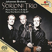 BRAHMS, J.: Piano Trios Nos. 1 and 2 (Storioni Trio) by Storioni Trio