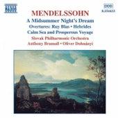 Overtures by Felix Mendelssohn