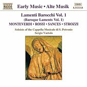 Lamenti Barocchi (Baroque Laments) Vol. 1 by Various Artists