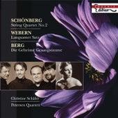 SCHOENBERG, A.: String Quartet No. 2 / WEBERN, A.: Langsamer Satz / BERG, A.: Lyrische Suite (excerpt) (C. Schafer, Petersen Quartet) by Various Artists