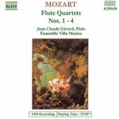 Flute Quartets Nos. 1 - 4 by Wolfgang Amadeus Mozart