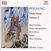 Piano Music Vol. 3 by Francis Poulenc