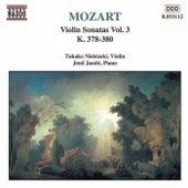 Violin Sonatas Nos. 10 - 12 by Wolfgang Amadeus Mozart