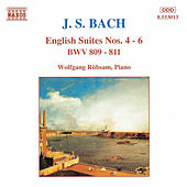 English Suites Nos. 4 - 6 by Johann Sebastian Bach