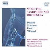 Music for Saxophone and Orchestra by Various Artists