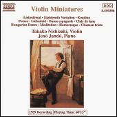 Violin Miniatures by Various Artists