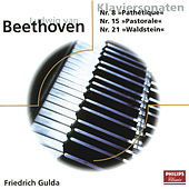 Beethoven: Piano Sonatas Nr. 8, 15, 21 & 22 by Friedrich Gulda