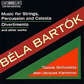 BARTOK: Music for Strings, Percussion and Celesta / Divertimento and other works by Various Artists