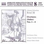 Overtures (Suites) Nos. 1 - 4 by Johann Sebastian Bach
