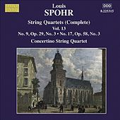 SPOHR String Quartets Nos. 9, 17 by Moscow Philharmonic Concertino Quartet