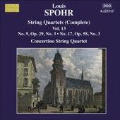SPOHR String Quartets Nos. 9, 17 by Moscow Philharmonic Concertino Quartet