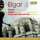 Edward Elgar. Flastaff, Enigma, Pomp and Circumstance No.5 by New Philharmonia Orchestra