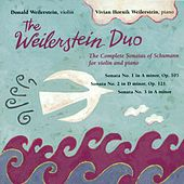 SCHUMANN, R.: Violin Sonatas (Complete) (Weilerstein Duo) by The Weilerstein Duo