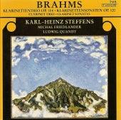 BRAHMS, J.: Trio, Op. 114 / Clarinet Sonatas Nos. 1 and 2 (Steffens, Quandt, Friedlander) by Karl-Heinz Steffens