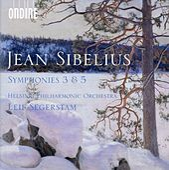 Sibelius: Symphonies Nos. 3 & 5 by Helsinki Philharmonic Orchestra