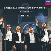 The Three Tenors in Concert - Rome 1990 by Luciano Pavarotti