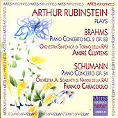 Arthur Rubinstein plays Brahms and Schumann by Arthur Rubinstein