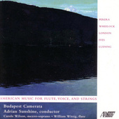 American Music for Flute, Voice & Strings by Various Artists