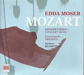 Wolfgang Amadeus Mozart: Konzertarien/Concert Arias by Edda Moser
