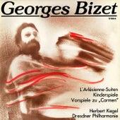 Georges Bizet: L'Arlésienne Suites Nos. 1&2/Carmen Preludes Nos. 1-4/Jeux d'enfants by Dresdner Philharmonie Herbert Kegel