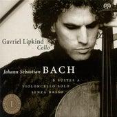Johann Sebastian Bach: 6 Suites A Violoncello Solo Senza Basso (Suites For Cello Solo) by Gavriel Lipkind