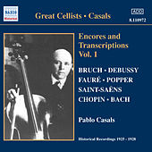 Encores and Transcriptions by Pablo Casals