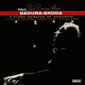Schubert: 3 Piano Sonatas by Paul Badura-Skoda