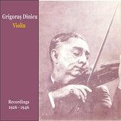 Romanian Violin / Romanian Folk Music in 78 RPM / Recordings 1924-1946 by Grigoras Dinicu