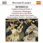 Complete Orchestral Works 5 by Joaquin Rodrigo