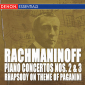Rachmaninoff: Piano Concerto Nos. 2 & 3 - Rhapsody on Theme of Paganini by Various Artists