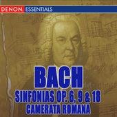 Johann Christian Bach: Sinfonias Op. 6, 9 & 18 by Eugen Duvier