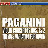 Paganini: Violin Concertos Nos 1 & 2 by Various Artists