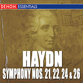 Haydn: Symphony Nos. 21, 22, 24 & 26 by Various Artists