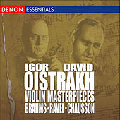 Brahms: Concerto for Violin & Orchestra, Op. 77 - Ravel: Rhapsody for Violin & Orchestra - Chausson: Poem for Violin & Orchestra, Op. 25 by Various Artists
