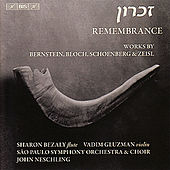 SCHOENBERG, A.: Kol Nidre / BERNSTEIN, L.: Halil / BLOCH, E.: Baal Shem / ZEISL, E.: Requiem Ebraico (Remembrance) by Various Artists