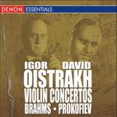 Prokofiev: Concerto for Violin & Orchesta, Op. 19 -Brahms: Concerto for Violin & Orchestra, Op. 77 by Various Artists
