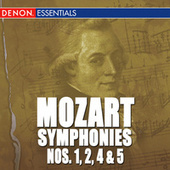 Mozart: The Symphonies - Vol. 1 - Nos. 1, 2, 4, 5 by Various Artists