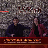 Bach: The Complete Sonatas for Violin and Obbligato Harpsichord by Rachel Podger