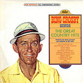 Sings The Great Country Hits by Bing Crosby