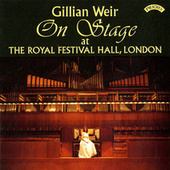 On Stage at The Organ of The Royal Festival Hall, London by Dame Gillian Weir