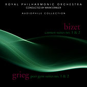Bizet: Carmen Suites 1 & 2 - Grieg: Peer Gynt Suites 1 & 2 by Royal Philharmonic Orchestra