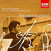 The Perlman Edition: Bach Violin Concertos by Itzhak Perlman