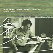 The Perlman Edition: Sibelius and Korngold by Itzhak Perlman