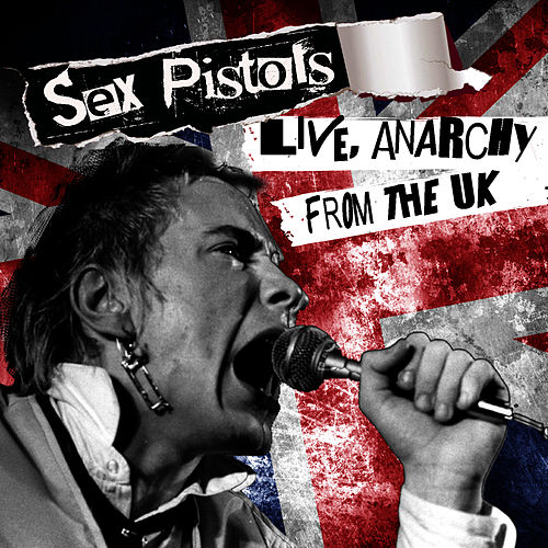 Play full-length songs from Live, Anarchy from the UK by The Sex Pistols on