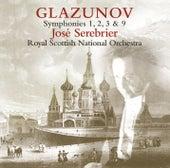 Glazunov : Symphony Nos 1, 2, 3 & 9 by José Serebrier