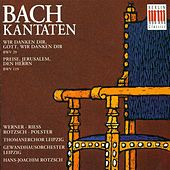 BACH, J.S.: Cantatas - BWV 29, 119 (Rotzsch) by Heidi Riess
