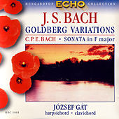 J.S. Bach: Goldberg Variations ; C.Ph.E. Bach: Sonata in F major by József Gát